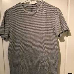 Grey Striped Merona Tee